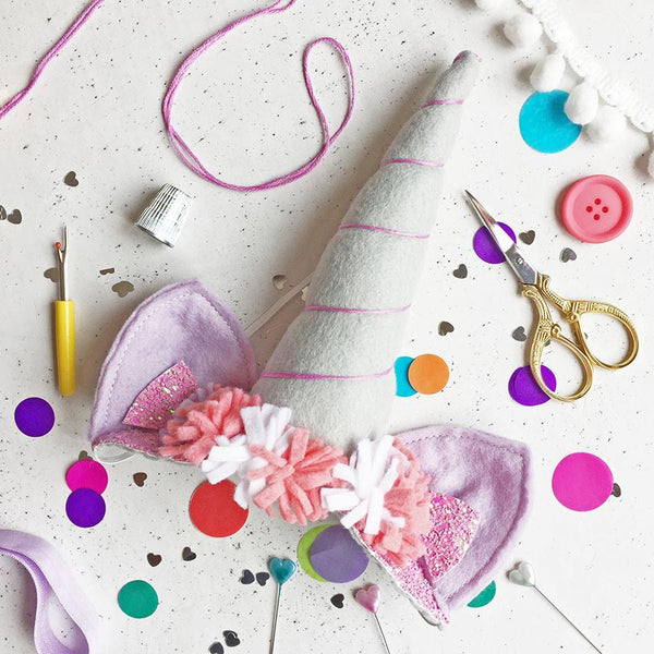 The Make Arcade: Unicorn Horn Headpiece Craft Kit