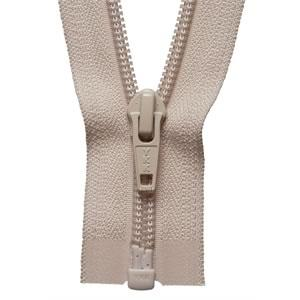 YKK Nylon Open Ended Zip - Beige (572)