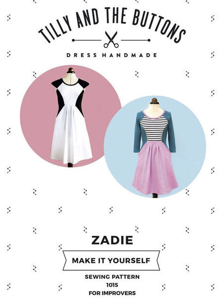 Tilly and the Buttons: Zadie - Dress Sewing Pattern