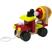 Pull-Along Cement Mixer by Orange Tree Toys