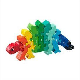 Fair Trade 1-10 Dinosaur Jigsaw by Lanka Kade