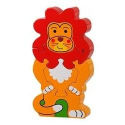 Fair Trade Jungle Lion Jigsaw by Lanka Kade