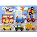 Chunky Transport Jigsaw Puzzle by Woodworks
