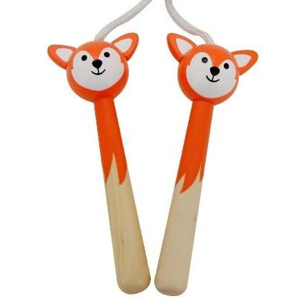Woodland Animal Fox Skipping Rope by Mamamemo