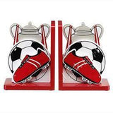 Fair Trade Red Football Bookends by Lanka Kade