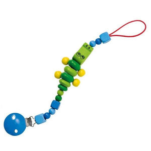 Crocolini Wooden Pacifier-Dummy Chain