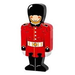 Fair Trade London Soldier Guard Jigsaw by Lanka Kade