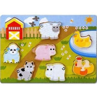 Chunky Farm Animals Jigsaw Puzzle by Woodworks