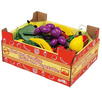 Wooden Play Food Fruit in Carton
