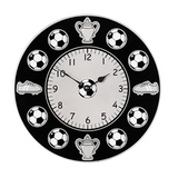 Fair Trade Football Clock by Lanka Kade