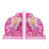 Fair Trade Pink Fairy Katie Bookends by Lanka Kade