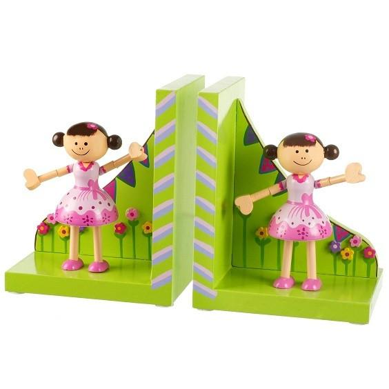 Ballerina Poppy Bookends by Orange Tree Toys