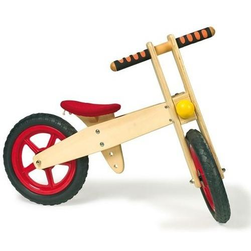 Childrens Wooden Number 1 Balance Bike