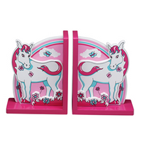 Fair Trade Pink Horse Bookends by Lanka Kade