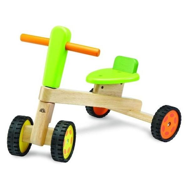 Eco Friendly Wooden Ride On Tricycle by Wonderworld