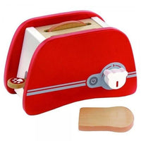 Wooden Red Toaster by Viga