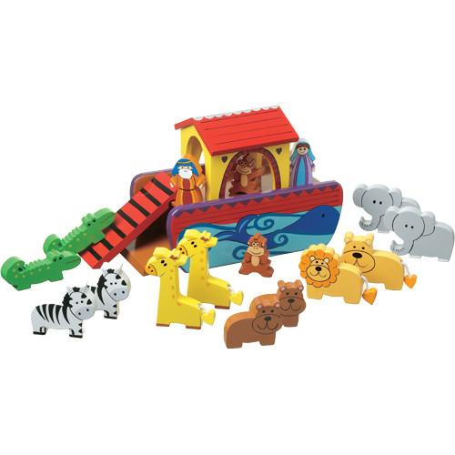 Large Noahs Ark with Animals by Orange Tree Toys
