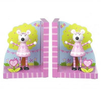 Pink Mouse Bookends by Orange Tree Toys