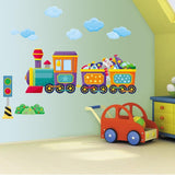 Boys Bedroom Train Wall Art Stickers