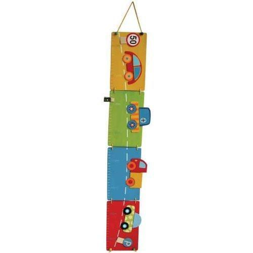 Childrens Wooden Car Height Chart by AM Leg