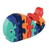 Fair Trade 1-10 Whale Jigsaw by Lanka Kade