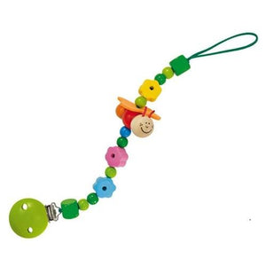 Farfalli Wooden Pacifier-Dummy Chain