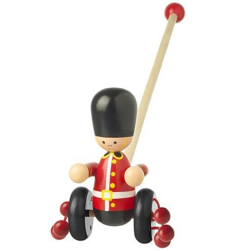 Push-Along London Guard by Orange Tree Toys