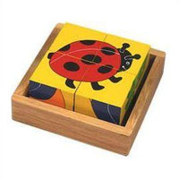 Fair Trade Minibeast Block Puzzle