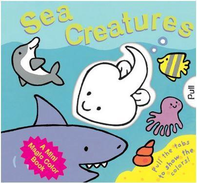 Mini Magic Book: Sea Creatures