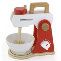 Wooden Red Food Mixer by Viga