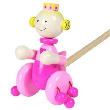 Push-Along Pink Fairy by Orange Tree Toys