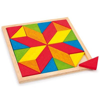 Wooden Star Mosaic Board Jigsaw