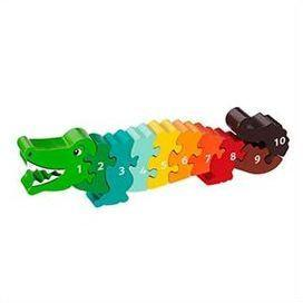 Fair Trade 1-10 Crocodile Jigsaw by Lanka Kade