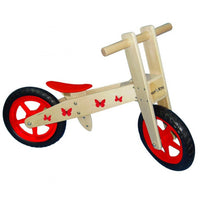 Wooden Butterfly Balance Bike by MaMaMeMo