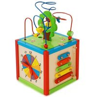 Wooden Play Activity Cube Toy by East Coast