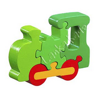 Fair Trade Train Jigsaw by Lanka Kade