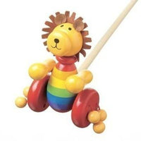 Push-Along Lion by Orange Tree Toys