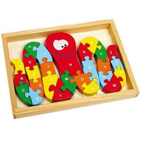 ABC Octopus Alphabet Wooden Jigsaw Puzzle
