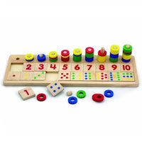 Colourful Wooden Counting Abacus 1-10 by Viga