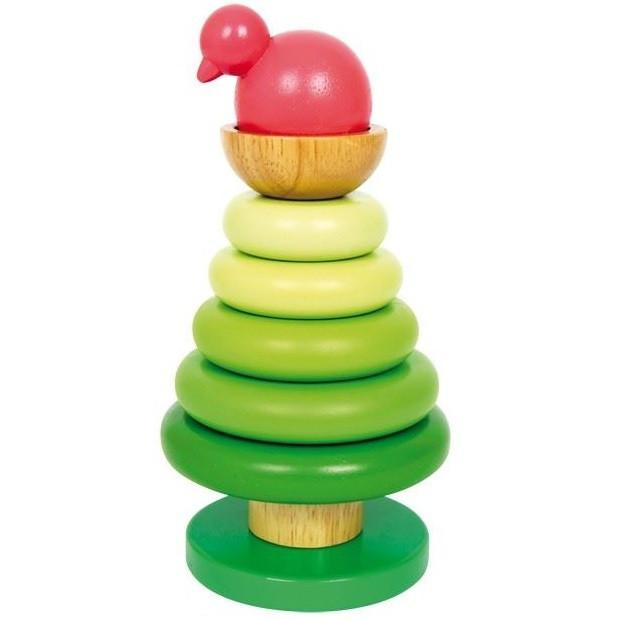 Wooden Stacking Tree