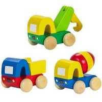 Set of 3 First Trucks by Orange Tree Toys