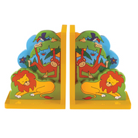 Fair Trade Jungle Fun Bookends by Lanka Kade