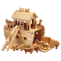 Fair Trade Junior Natural Noah's Ark with Animals