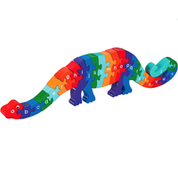 Fair Trade Alphabet A-Z Dinosaur Jigsaw by Lanka Kade