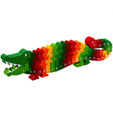 Fair Trade 1-25 Crocodile Jigsaw by Lanka Kade