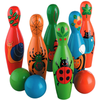 Fair Trade Large Wooden Minibeast Skittles by Lanka Kade