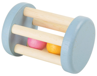 Small Foot Pastel Wooden Cage Rattle