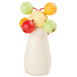 Pastel Baby Rattle With Clacking Balls