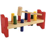 Pound a Peg Wooden Hammer Bench