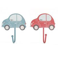 Set of 2 Transport Car Coat Hooks